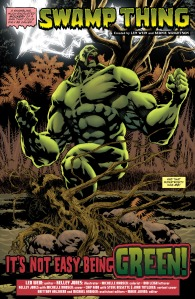 Convergence - Swamp Thing (2015) 001-004